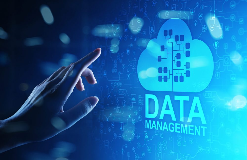 Data,Management,System,,Cloud,Technology,,Internet,And,Business,Concept.